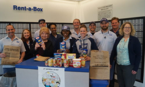 Letter Carriers Canned Food Drive