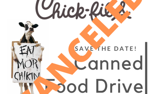 Chick-fil-A Canned Food Drive